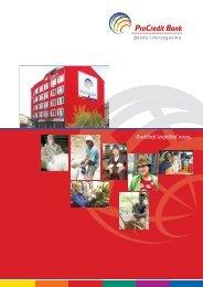Godišnji izvještaj 2005. - ProCredit