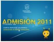 campus irapuato - salamanca - Dirección de Asuntos Académicos
