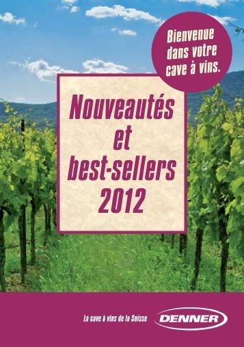 Nouveautés et best-sellers 2012 - Denner Wineshop.ch