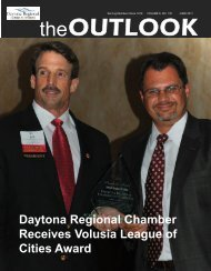 June 2011 Newsletter - Daytona Beach Chamber of Commerce