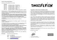 Ausschreibung Herbst 2010 - Robi-Spiel-Aktionen