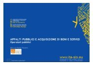 Programma della mattina - Fondi Europei 2007-2013
