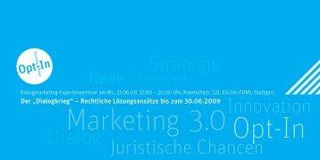 Marketing 3.0 - dialogkongress-stuttgart.de