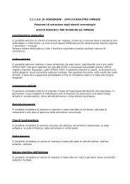 Istruzioni per la richiesta di Elenchi Merceologici (file PDF, 21kb)