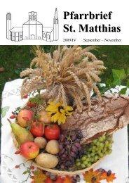 Pfarrbrief 2009_4_komp.pdf - St. Matthias