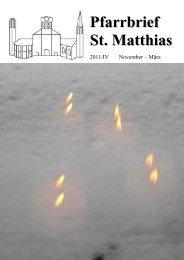 Pfarrbrief 2011_4_komp.pdf - St. Matthias