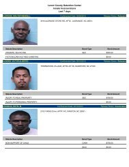 Updated May 10: Mugshots of people arrested in Lenoir County