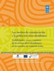 Los medios de comunicación y la población afrocolombiana