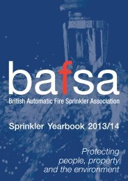 View article (pdf) - British Automatic Fire Sprinkler Association