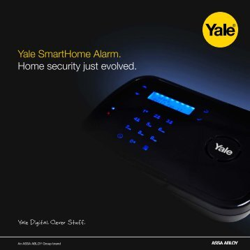 Yale SmartHome Alarm. Home security just evolved. - Assa Abloy