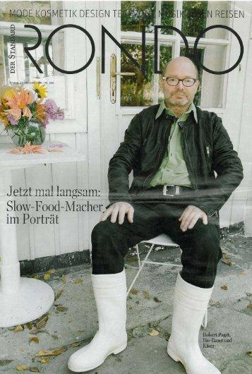 """im Rondo-Magazin des """"Standard"""" - Grubenkraut"""