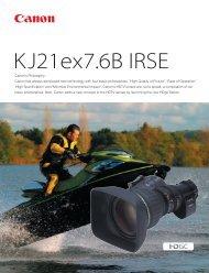 Catalog (PDF file) Download 1.44MB - Canon