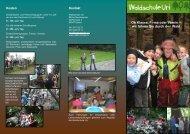 Faltprospekt - Waldschule Uri