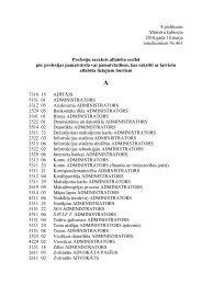 4.pielikums Ministru kabineta 2010.gada 18.maija noteikumiem Nr ...