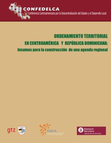 Ordenamiento Territorial en Centroamérica y República Dominicana
