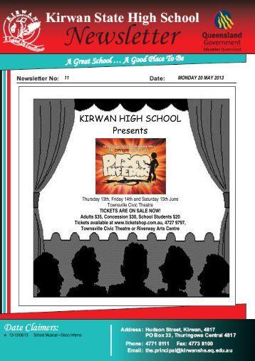 Newsletter_no_11_20-May-2013 - Kirwan State High School