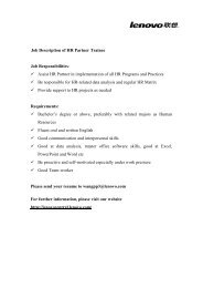 Job Description of HR Partner Trainee Job Responsibilities: Assist ...