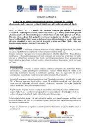 Tisková zpráva - Národní vzdělávací fond