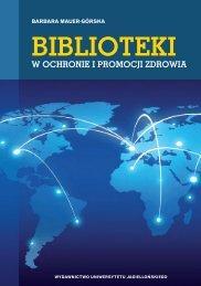 BIBLIOTEKI - Wydawnictwo Uniwersytetu Jagiellońskiego