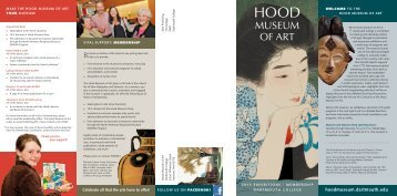 Click here (PDF) - Hood Museum of Art - Dartmouth College