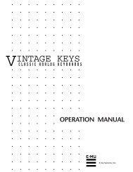 VINTAGE KEYS - Synth Zone