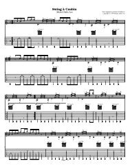 Swing a Caubin - Acoustic Fingerstyle Guitar