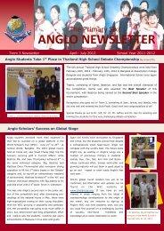 Term 3 Newsletter - Anglo Singapore International School