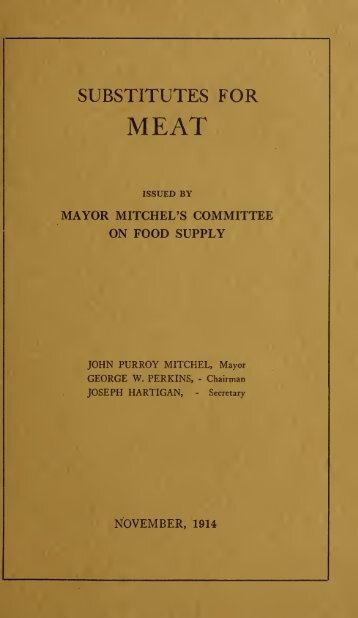 Substitutes for meat.pdf - Armchair Patriot