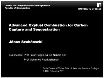 Advanced oxyfuel combustion for CCS