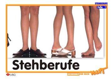 STEHBERUFE Folie 1