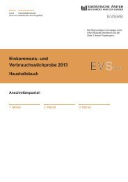 EVS - Haushaltsbuch