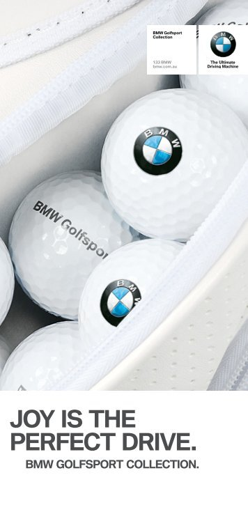JOY IS the perfect drIve. - BMW