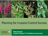 Planning for Invasive Control Success
