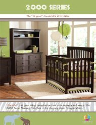 2000 Series Collection - Baby's Dream Furniture