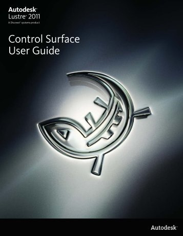 Control Surface User Guide - Autodesk