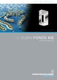 VII. DUBAI FONDS KG