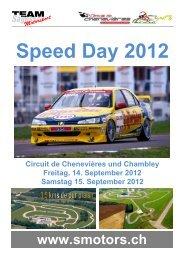 Speed Day 2012 - Sägesser Motorsport