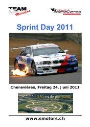 Sprint Day 2011 - Sägesser Motorsport