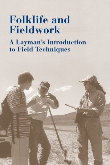 Folklife and Fieldwork: A Layman's Introduction to Field ... - NASA Wiki