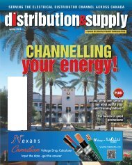 SERVING THE ELECTRICAL DISTRIBUTOR CHANNEL ACROSS ...