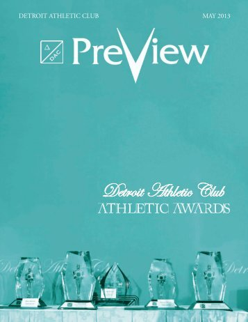 Preview what's happening - Detroit Athletic Club
