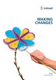 Indosat Annual Report 2009
