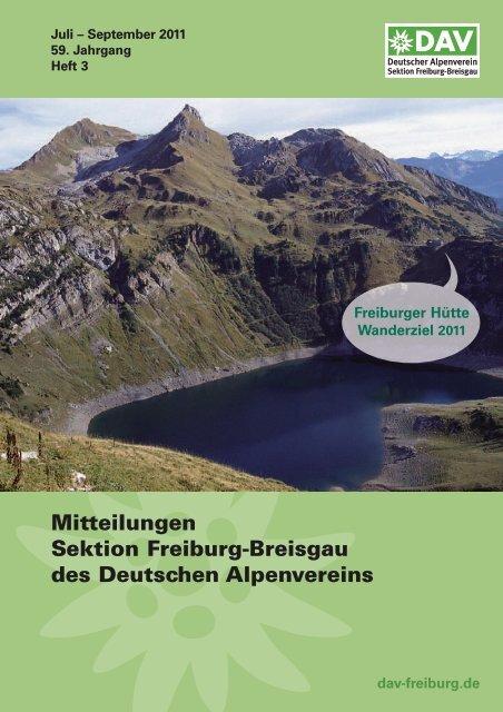 BEriCHTE - DAV Sektion Freiburg i. Br.