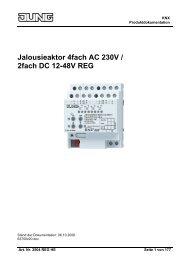 Jalousieaktor 4fach AC 230V / 2fach DC 12-48V REG - Avolta