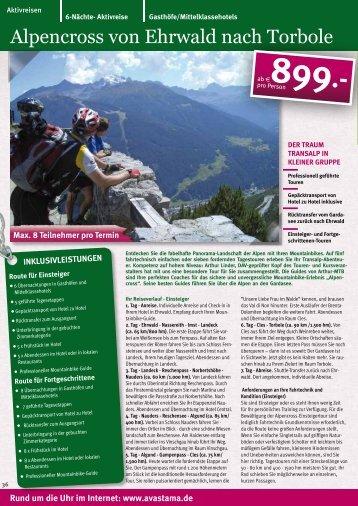 Alpencross von Ehrwald nach Torbole