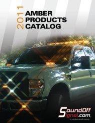 SoundOff Amber Product Catalog - Stonebrooke Equipment