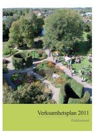 Verksamhetsplan 2011 - Enköping