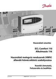 ECL Comfort 110, app 116