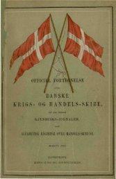 DANSKE RIGS- OG HANDELS-SKIBE.