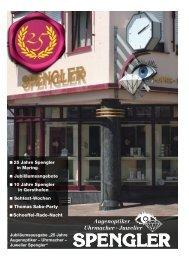 Augenoptiker Uhrmacher · Juwelier - Spengler